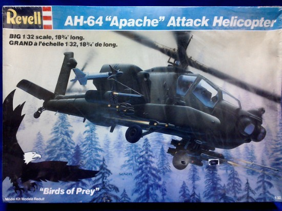 Picture of AH-64 Apache Helicopter