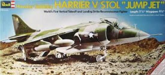 Picture of Harrier Jump Jet V/STOL