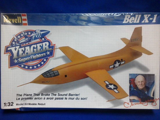 Picture of Bell X-1 First Supersonic - Chuck Yeager