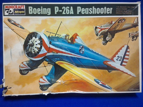 Picture of Boeing P-26A Peashooter