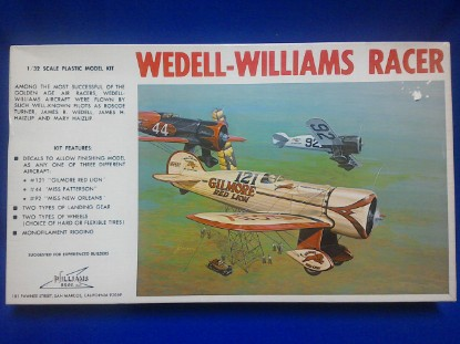 Picture of Wedell-Williams Racer  Kit