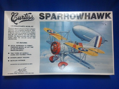 Picture of Curtiss Sparrowhawk Navy Fighter kit