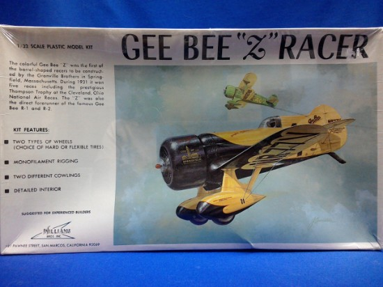 """Picture of Gee Bee """"Z""""  Racer Kit"""