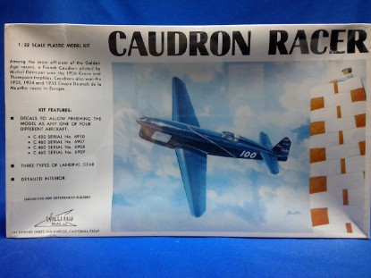 Picture of Caudron Racer  Kit