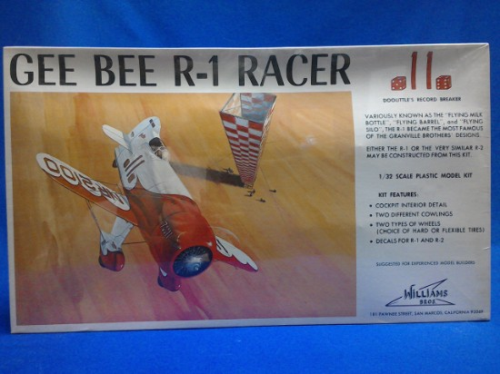 Picture of Gee Bee R-1 Racer Kit