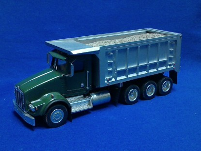 Picture of Kenworth T800 8x4 dump  green/silver