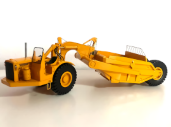 Picture of Cat DW21 scraper - open cab