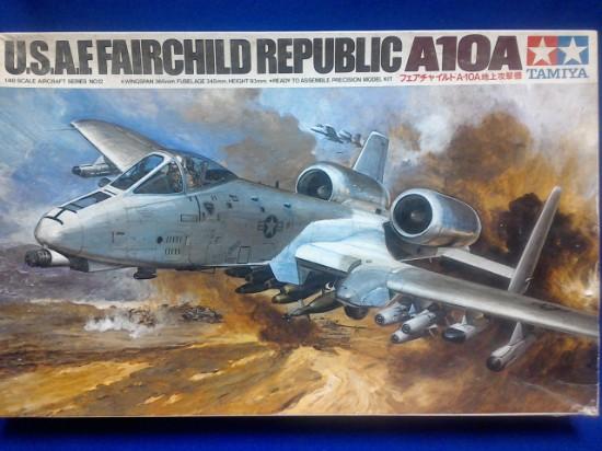 Picture of U.S.A.F. Fairchild Republic A-10A