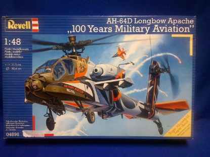 Picture of Ah-64d Longbow Apache 100 Years Military Aviation