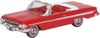 Picture of 1961 Chevy Impala Convertible - Red