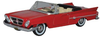 Picture of 1961 Chrysler 300 Convertible- Top Down (Mardi Gras Red)