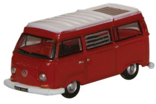 Picture of 1970s Volkswagen Camper Van- Senegal Red, White