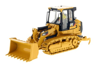 Picture of Caterpillar 963D track loader metal tracks