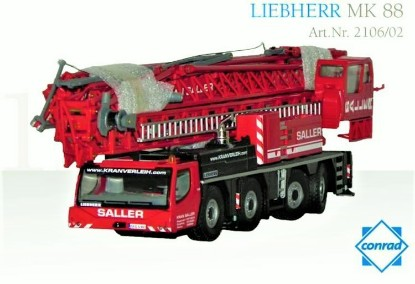 Picture of Liebherr MK88 mobile tower crane  SALLER