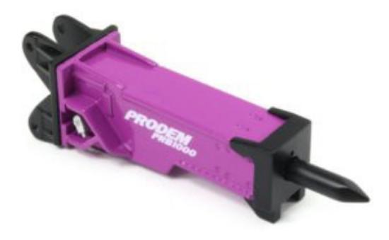 Picture of ProDem PRB1000 Hydraulic Hammer (85-140 ton)  (Liebherr R9100 Mount)