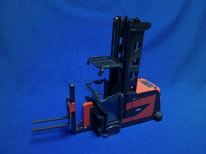 Picture of Linde K forklift narrow isle dual purpose combi