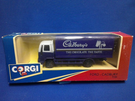 Picture of Ford Box Truck- Cadbury's