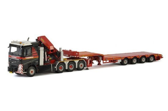 Picture of Volvo FH4 8x4 +4x lowboy  MAMMOET