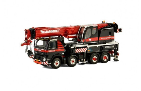 Picture of Liebherr LTF1060-4.1 on Volvo FMX  MAMMOET