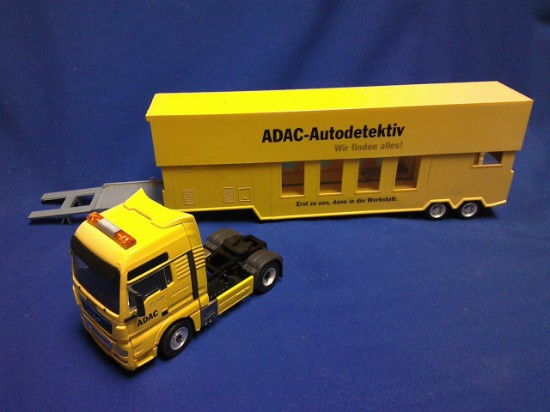 Picture of MAN  semi vehicle inspection truck ADAC