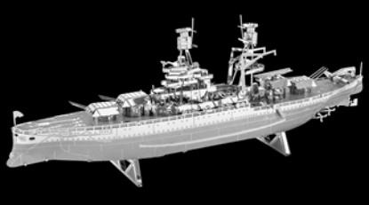 Picture of USS Arizona battleship - metal kit