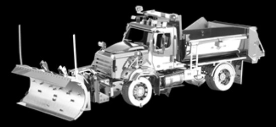 Picture of Freightliner 114SD Snow Plow