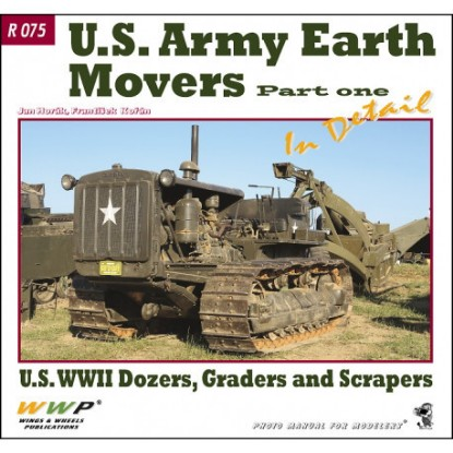 Picture of US WW2 Earth Movers in Detail
