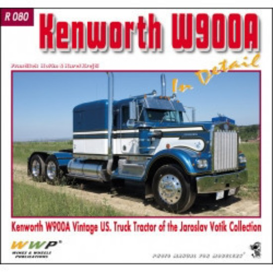 Picture of Kenworth W900A Truck Tractor in Detail
