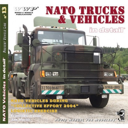 Picture of NATO Truck & Vehicles in detail
