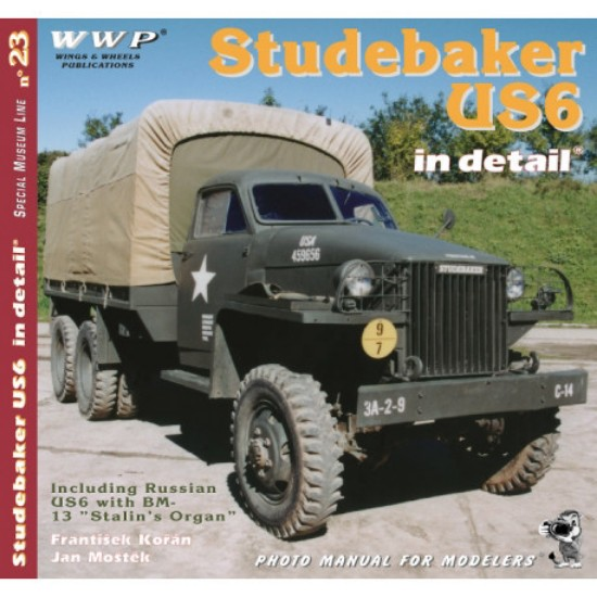 Picture of Studebaker US6 in detail