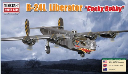 "Picture of B-24L Liberator ""Cocky Bobby"""