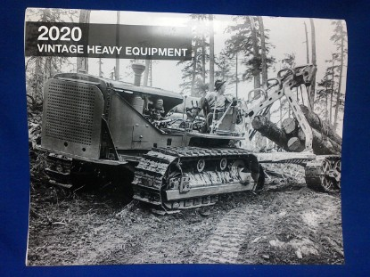 Picture of Vintage Heavy Equipment 2020 Calendar