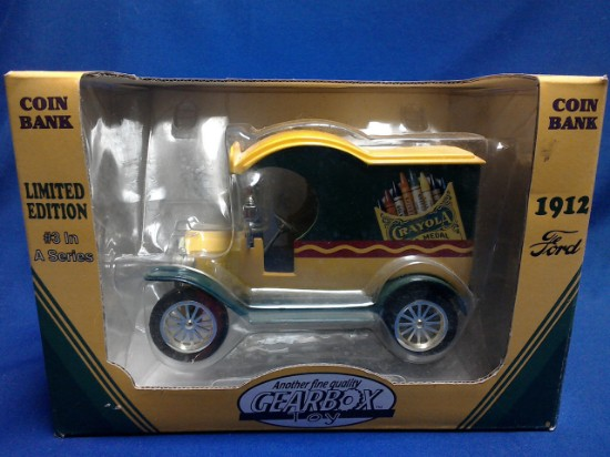 Picture of 1912 Ford Crayola Coin Bank
