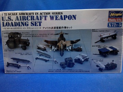 Picture of US Aircraft weapon loading set