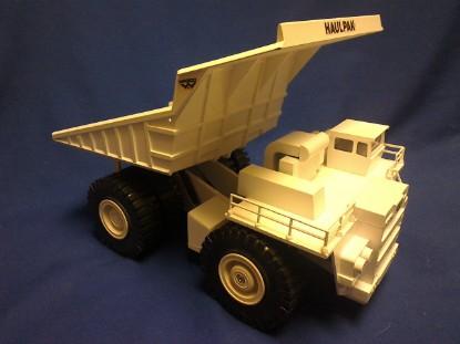 Picture of Wabco Haulpak Dump Truck (White)