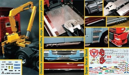 Picture of Truck Accessories Set II w/ pivoting lifting crane