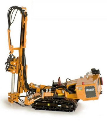 Picture of HBR 605 hydraulic drill rig     yellow