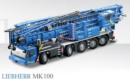Picture of Liebherr MK100 mobile tower crane FELBERMAYR