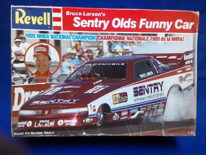 Picture of Sentry Olds Funny car  Bruce Larson