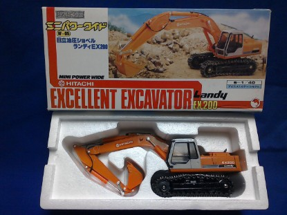 Picture of Hitachi EX200 Landy Track Excavator
