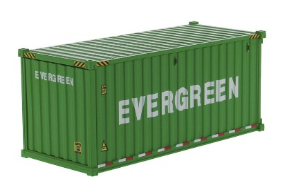 Picture of Dry goods shipping container 20'  EVERGREEN