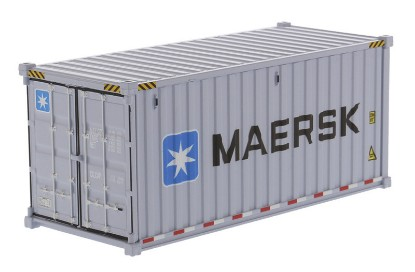 Picture of Dry goods shipping container 20'  MAERSK
