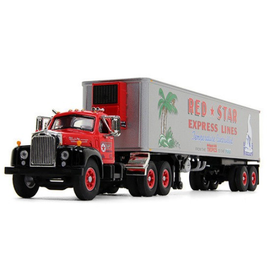 Picture of Mack 1960 B-61 Tracotr & 40' Trailer-Red Star Express