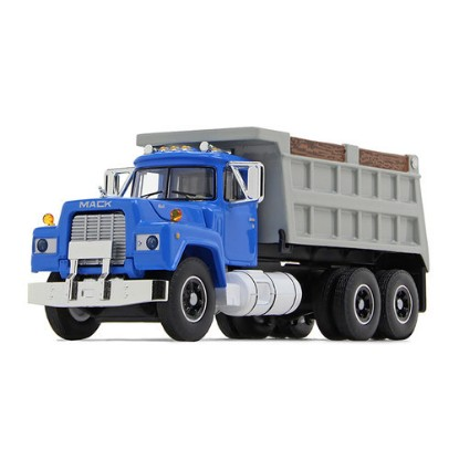 Picture of 1960 Mack Model B-61 Dump - blue/gray