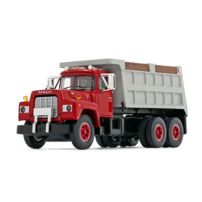 Picture of 1960 Mack Model B-61 Dump - red/gray