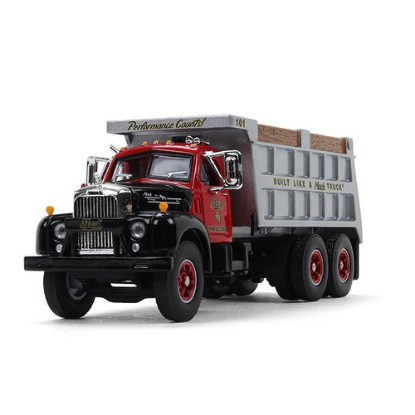 Picture of 1960 Mack Model B-61 Dump - Black/red/gray