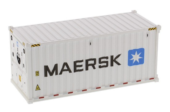 Picture of Refrigerated shipping container 20'  MAERSK