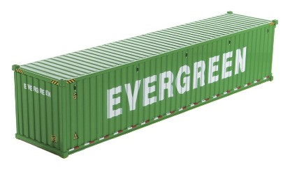 Picture of Dry goods shipping container 40'  EVERGREEN