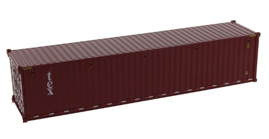 Picture of Dry goods shipping container 40'  TEX