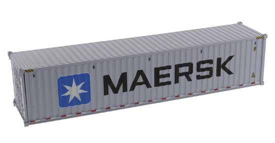 Picture of Dry goods shipping container 40'  MAERSK